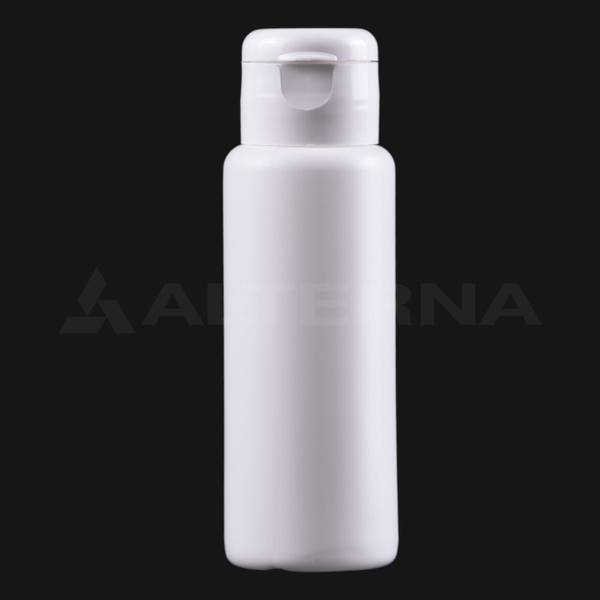60 ml Plastik Şişe 24 mm Flip Top Kapaklı