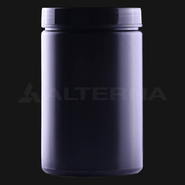 400 ml HDPE Jar with Black Cap