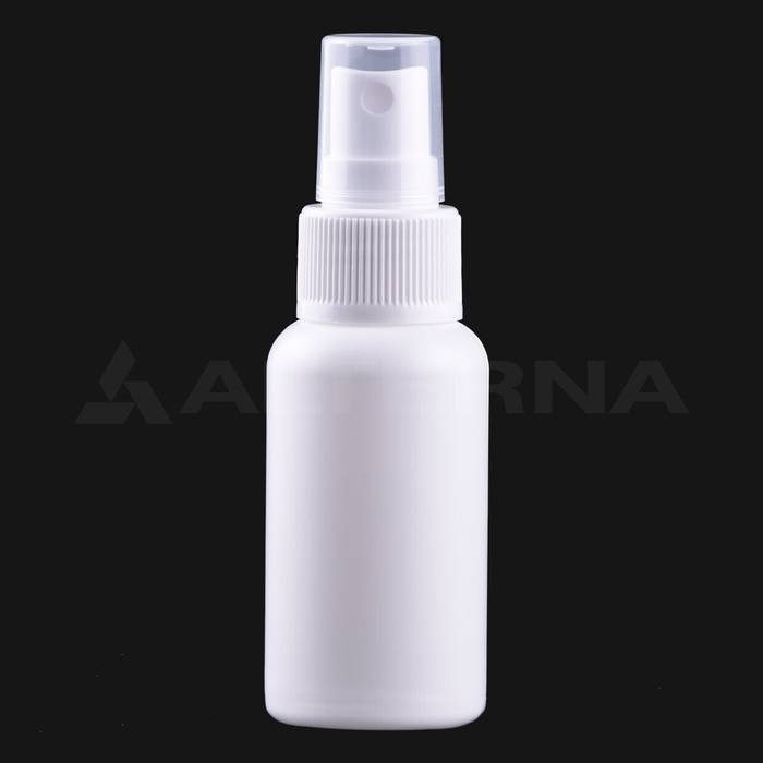 50 ml HDPE Bottle with 24 mm Sprayer