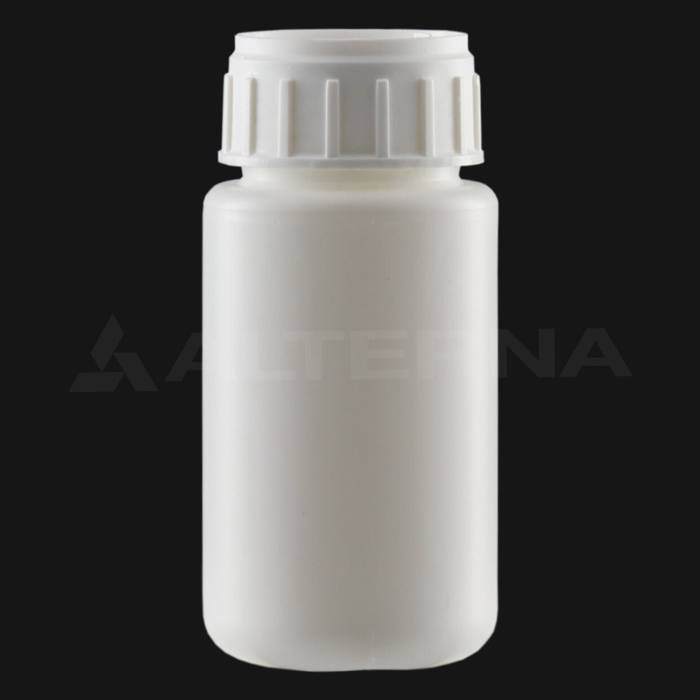 100 ml HDPE Bottle with 38 mm Alu. Foil Seal Cap