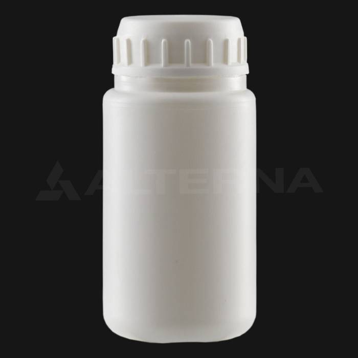 100 ml HDPE Bottle with 38 mm Foam Seal Vented Secure Cap