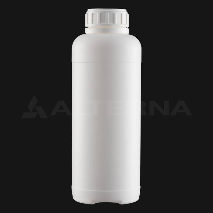 1000 ml HDPE Bottle with 50 mm Foam Seal Vented Secure Cap