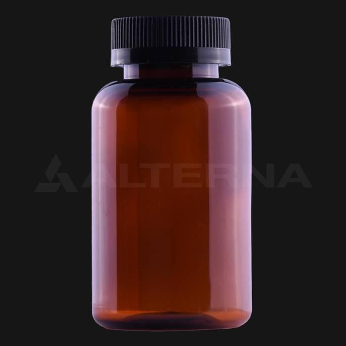 200 ml PET Pill Bottle with 38 mm Child Resistant Cap