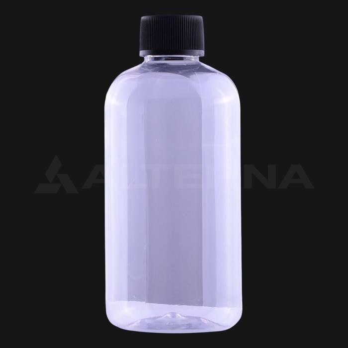 250 ml PET Bottle with 24 mm Foam Seal Cap