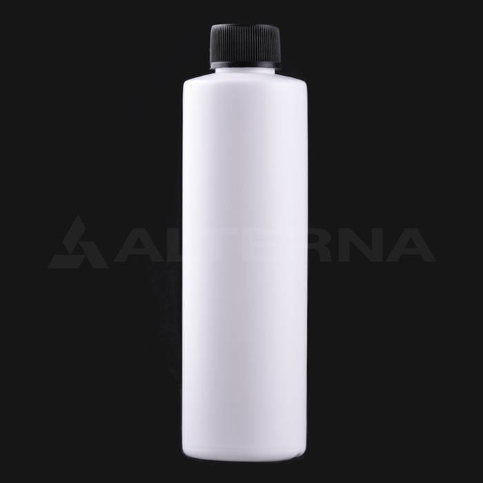 250 ml HDPE Bottle with 24 mm Foam Seal Cap