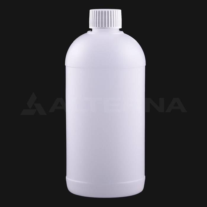 500 ml HDPE Bottle with 28 mm Foam Seal Cap