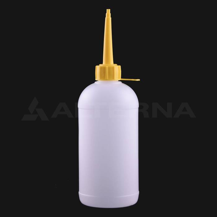 500 ml HDPE Bottle with 28 mm Glue Cap