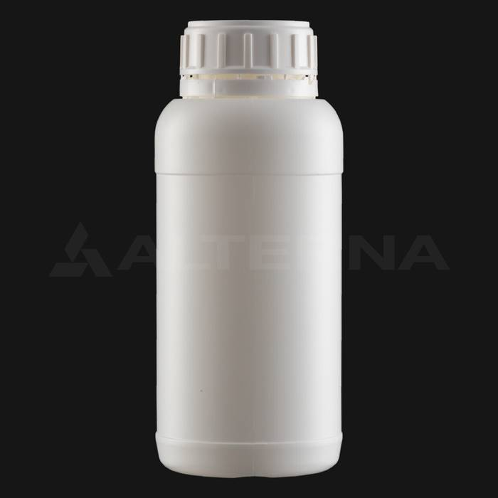 500 ml HDPE Bottle with 50 mm Foam Seal Vented Secure Cap