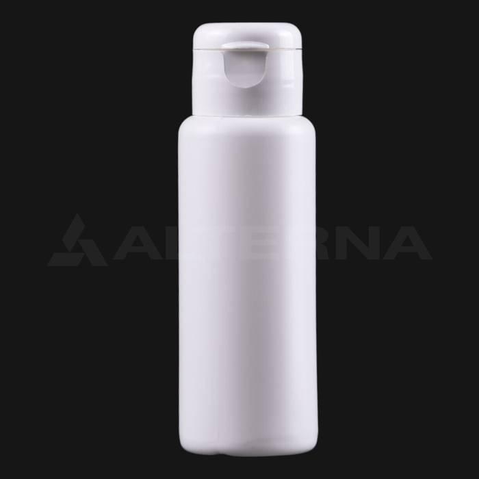 60 ml Plastik Şişe 24 mm Flip Top Kapaklı