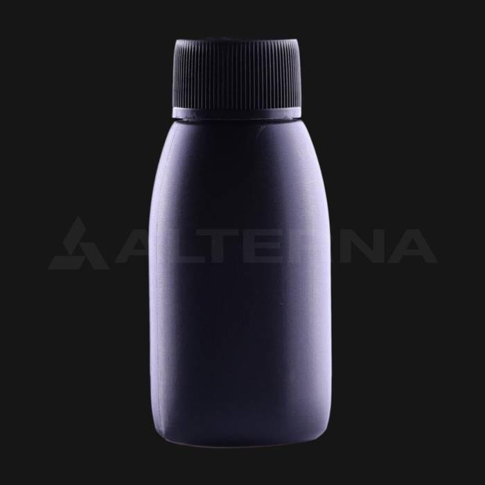 60 ml HDPE Flasche mit 24 mm PE-Einlage Dichtung Kappe