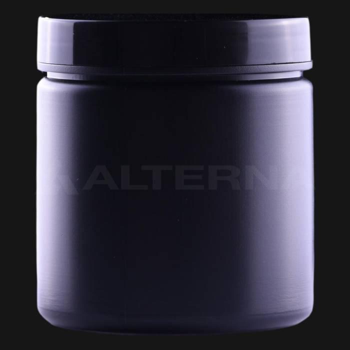 250 ml HDPE Jar with Black Cap