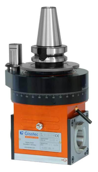 GA-X30 Angle Head ISO30 Output SK40 / BT40 / CAT40 / HSK63