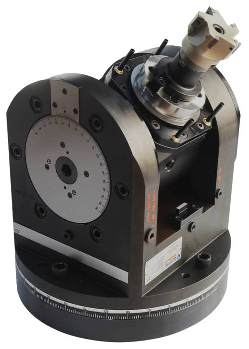 GT-FX Heavy Duty Adjustable Angle Head with Flange Connection